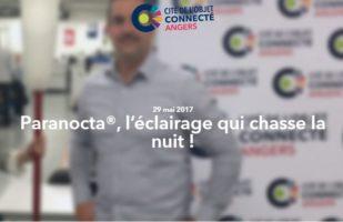 Paranocta chasse la nuit Cité de L'objet Connecte 29 mai 2017