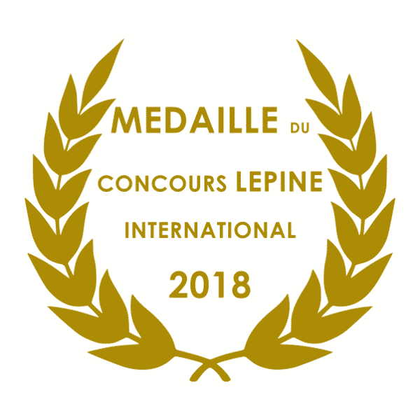 Paranocta medaille LEPINE 2018