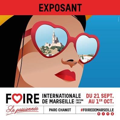 Paranocta à la Foire de Marseille du 21 septembre au 1er octobre 2018