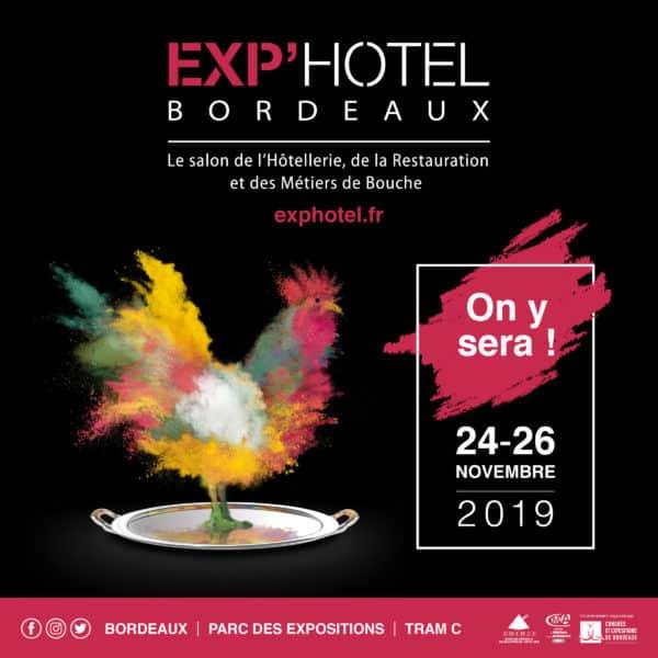 PARANOCTA expose à EXPHOTEL Bordeaux