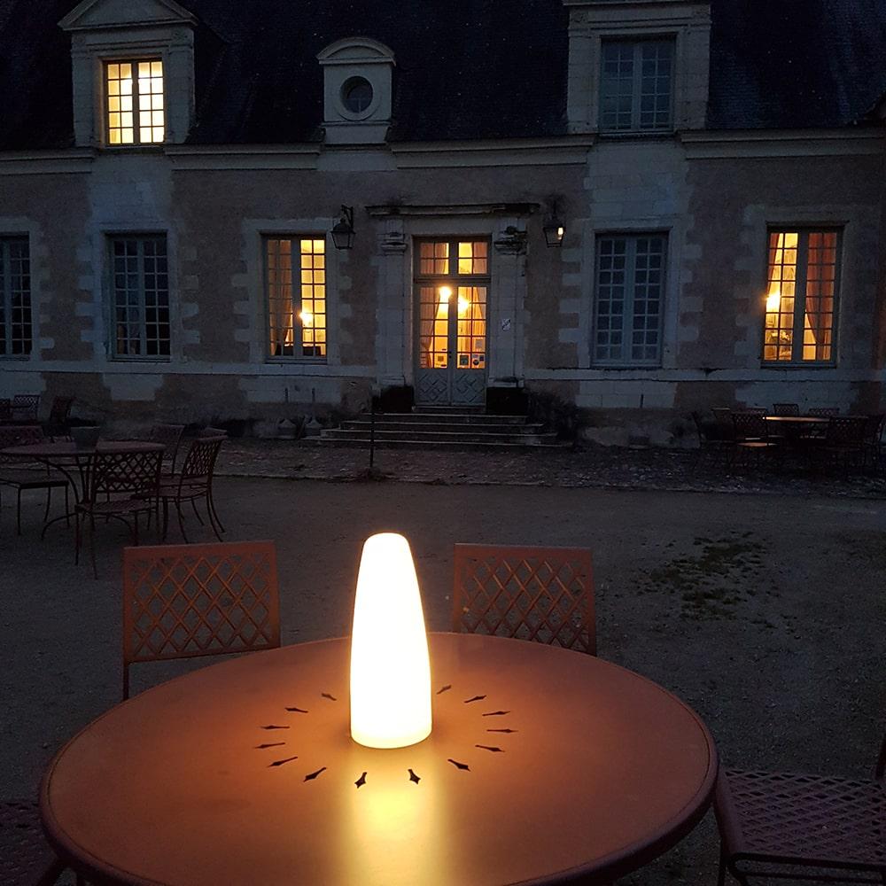 lanterne sans fil à poser pour réception