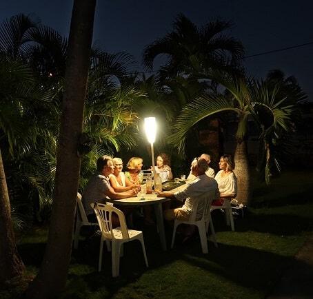 lampadaire sans fil jardin sur batterie