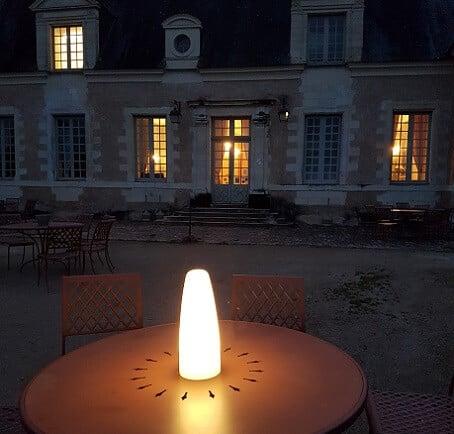 lanterne sans fil sur batterie à poser