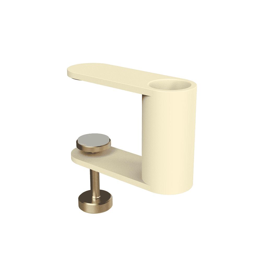 Pince table ivoire sablé mat PARANOCTA